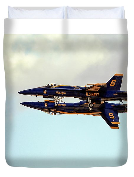Blue Angels 1 Duvet Cover