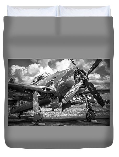 Blue Angels - Bearcat Duvet Cover