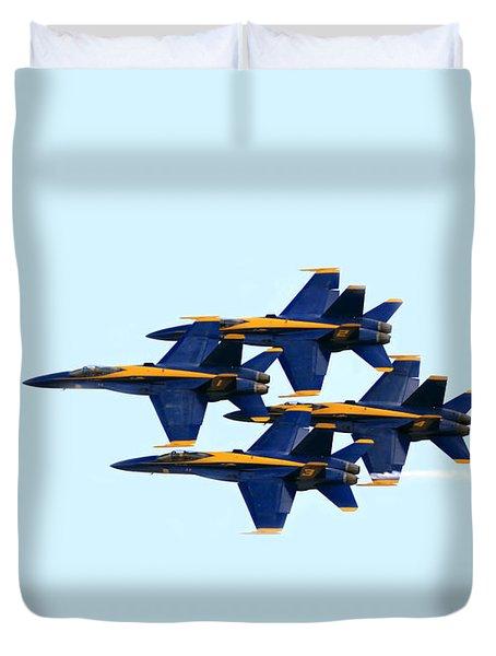 Blue Angels Formation I Duvet Cover