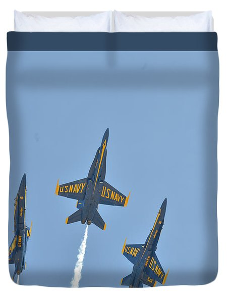 Blue Angels Duvet Cover