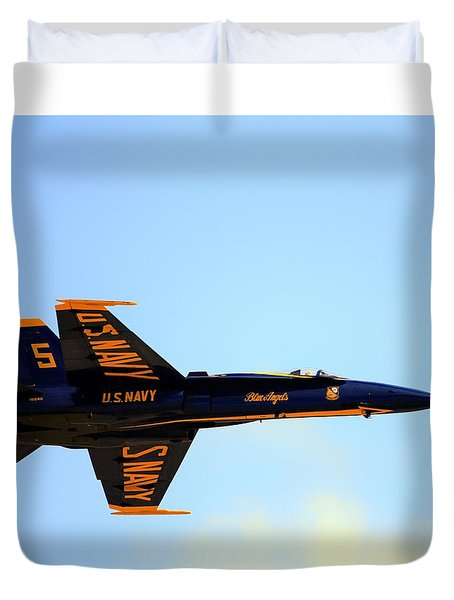 Blue Angels No. 5 Duvet Cover