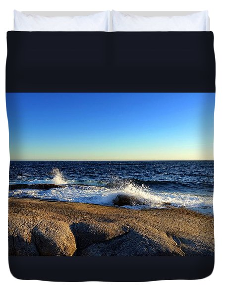 Blue Atlantic Duvet Cover