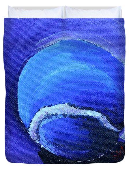 Blue Ball Duvet Cover