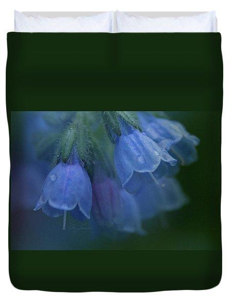 Blue Bells Duvet Cover