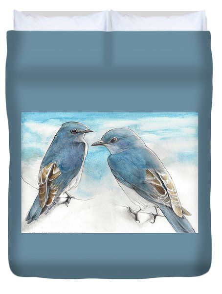 Blue Boys Duvet Cover