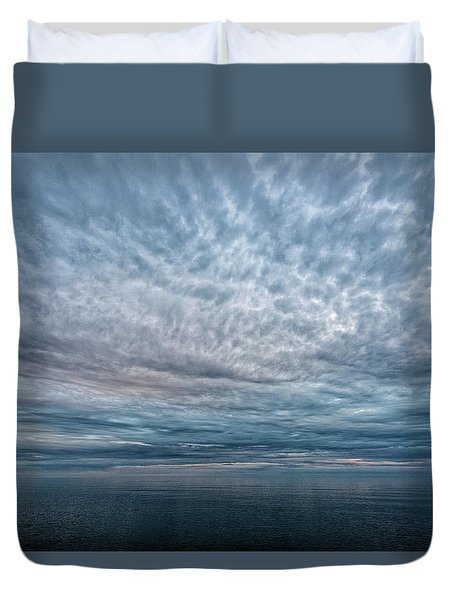 Blue Calm Duvet Cover