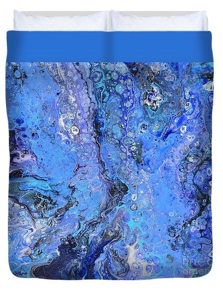 Blue Capri Duvet Cover