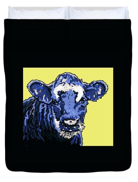 Blue Cow Duvet Cover