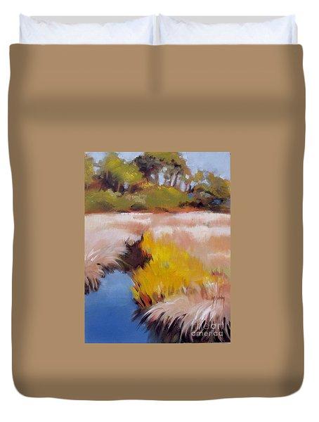 Blue Creek Duvet Cover