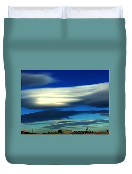 Blue Day Spain  Duvet Cover