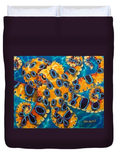 Blue Ringed Octopust Duvet Cover
