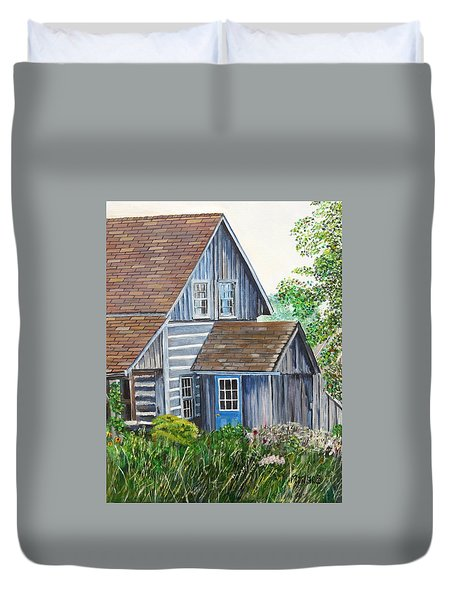 Blue Door Duvet Cover