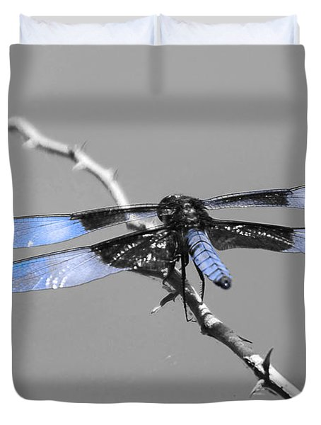 Blue Dragon Duvet Cover by Cindy Manero