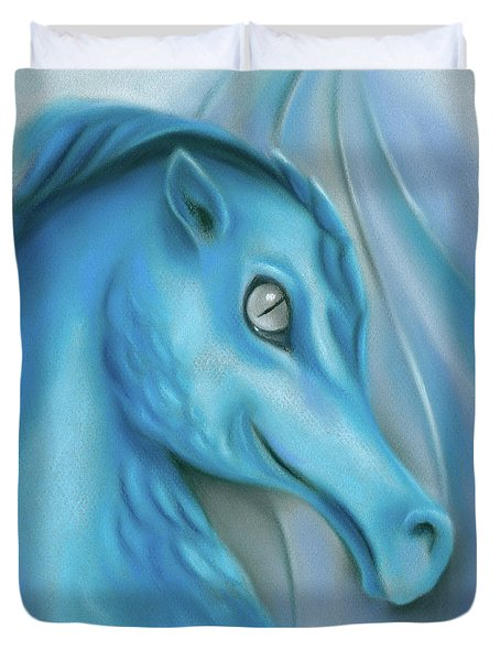 Blue Dragon Duvet Cover