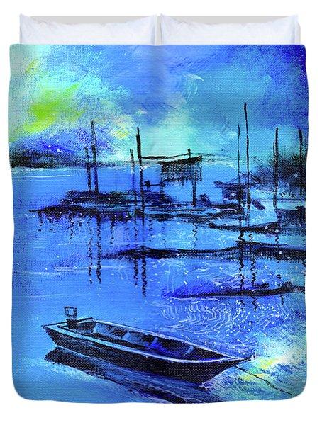 Blue Dream 2 Duvet Cover