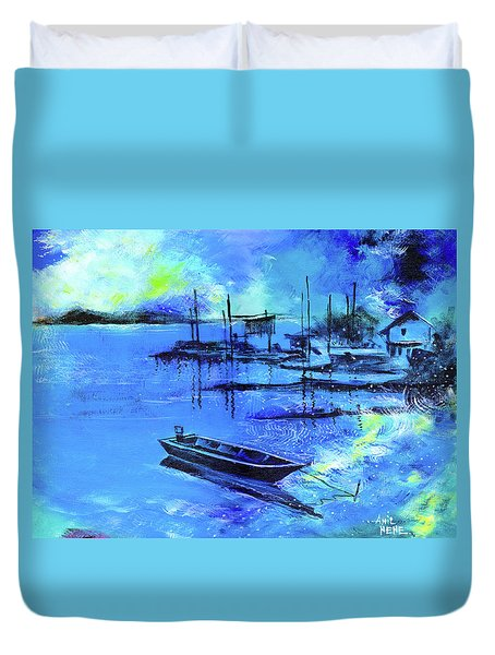 Blue Dream 2 Duvet Cover