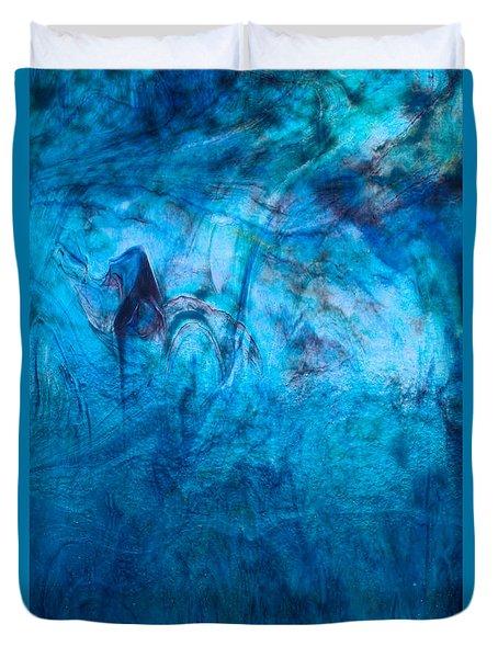 Blue Dream Duvet Cover