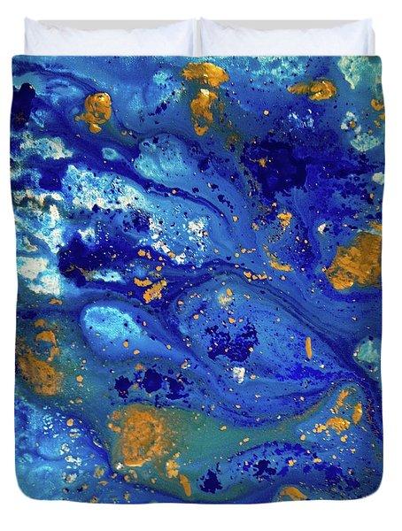 Blue Dream Duvet Cover by Sean Brushingham