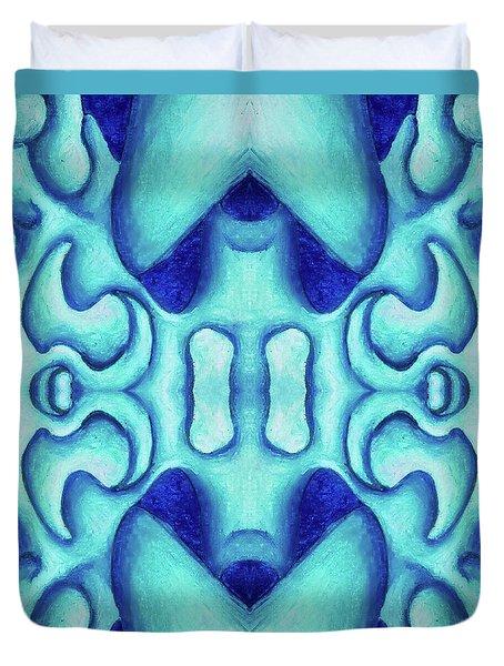 Blue Dream Duvet Cover by Versel Reid