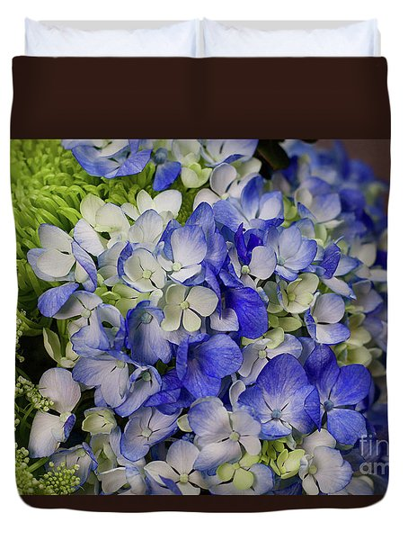 Blue Dreams Duvet Cover