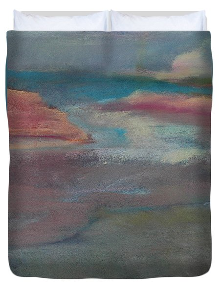 Blue Dune Duvet Cover