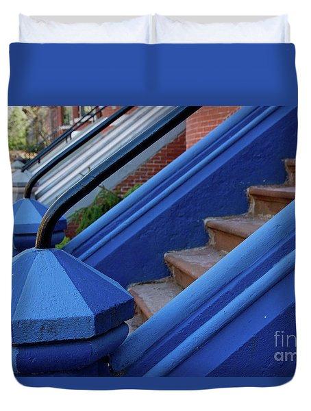 Blue Entry Duvet Cover