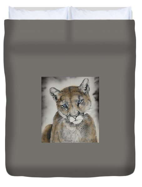 Blue Eyes Duvet Cover