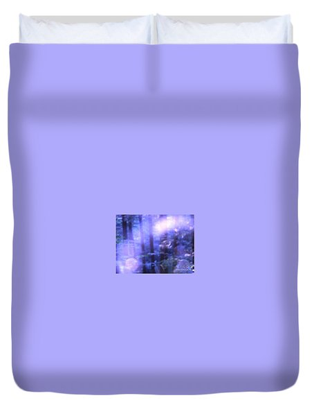 Blue Fairies Duvet Cover