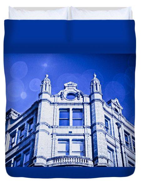 Blue Fantasy Duvet Cover