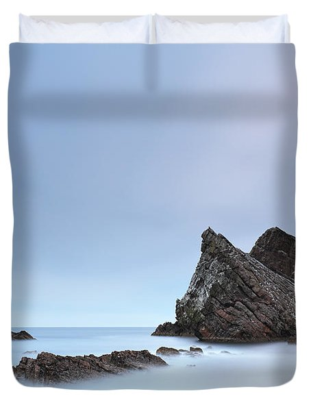 Duvet Cover featuring the photograph Blue Fiddle by Grant Glendinning