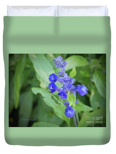 Blue Flowers B7 Duvet Cover