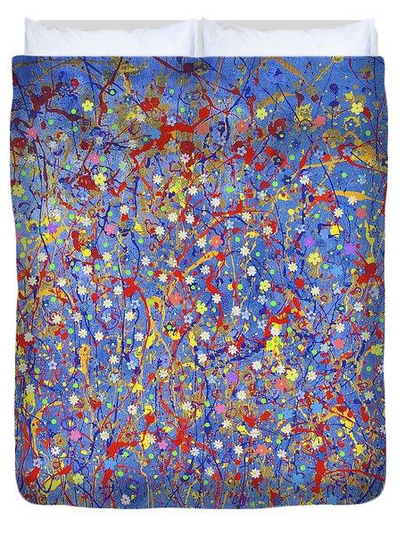 Blue Fusion Duvet Cover