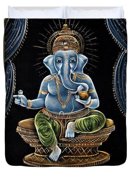 Shri Ganesha Duvet Cover
