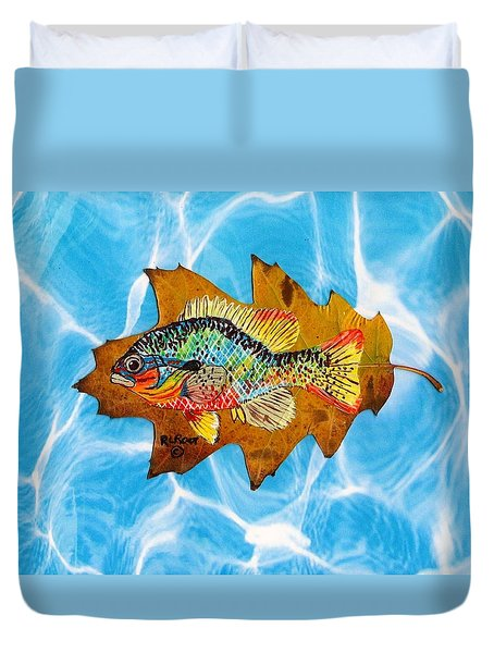 Blue Gill Duvet Cover by Ralph Root