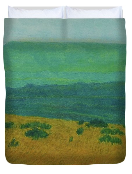Blue-green Dakota Dream, 1 Duvet Cover