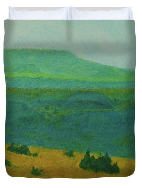 Blue-green Dakota Dream, 2 Duvet Cover