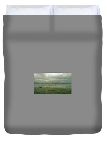 Blue Green Grey Duvet Cover