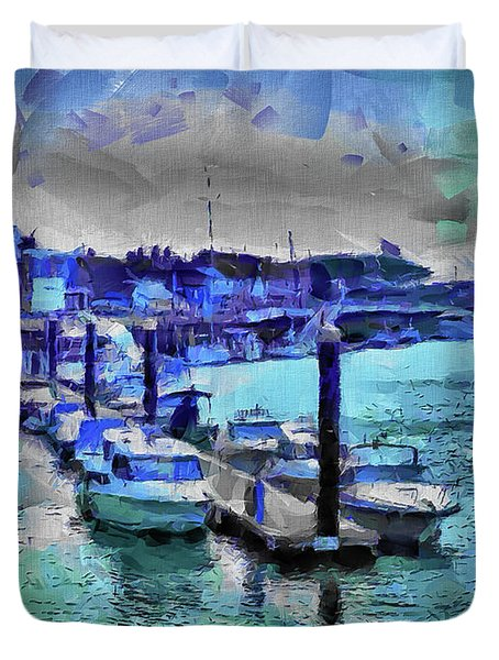 Blue Harbour Duvet Cover