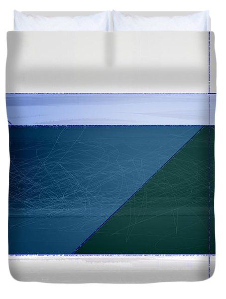 Blue Haze Duvet Cover