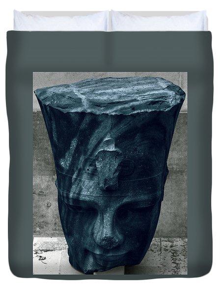 Blue Head Duvet Cover