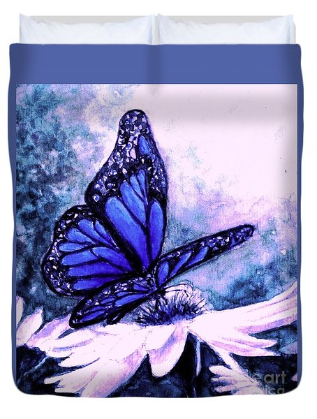 Blue Heaven Duvet Cover