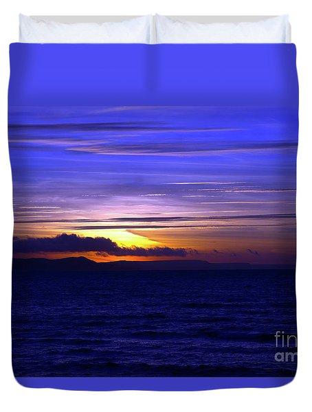Blue Heaven  Duvet Cover by Baggieoldboy