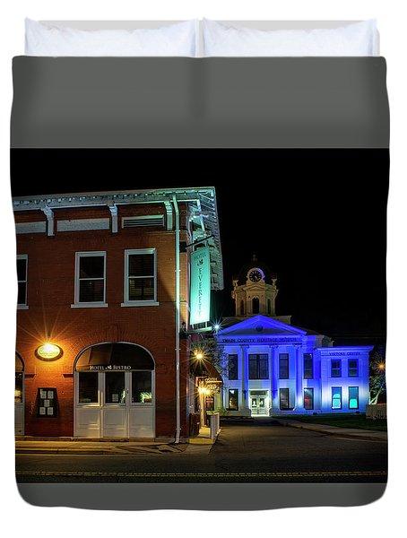 Blue Heritage Duvet Cover