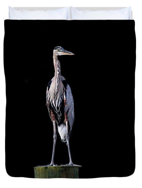 Blue Heron Prestige Duvet Cover
