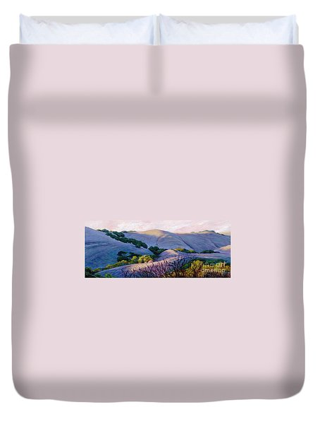 Blue Hills Duvet Cover