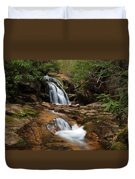 Blue Hole In Spring 2017 II Duvet Cover
