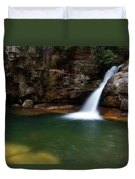 Blue Hole In Spring 2017 IIi Duvet Cover