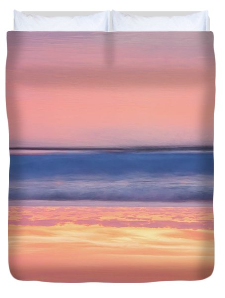 Duvet Cover featuring the photograph Apricot Delight by Az Jackson
