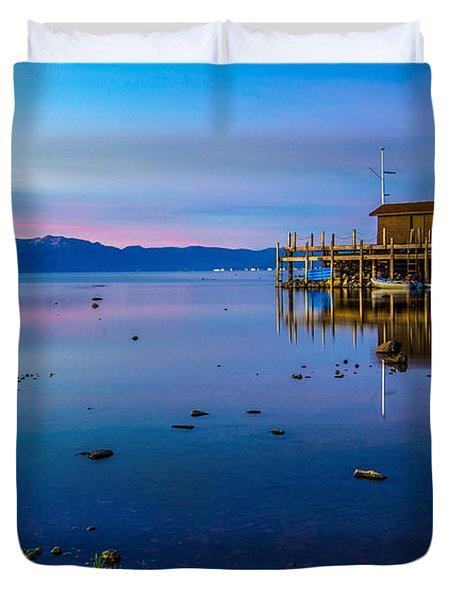 Blue Hour  Duvet Cover