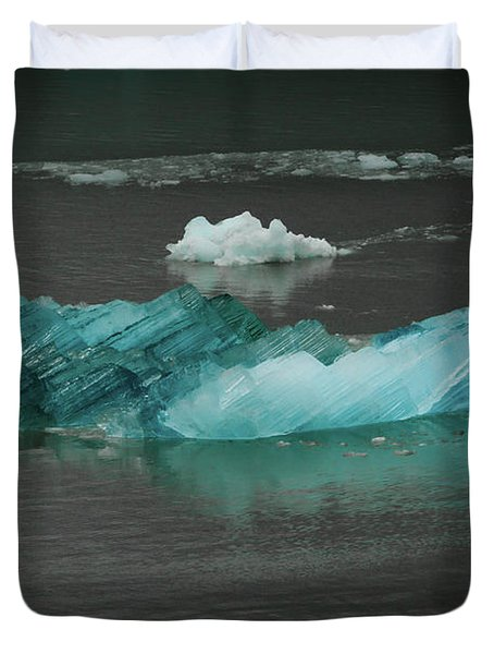 Blue Iceberg Duvet Cover